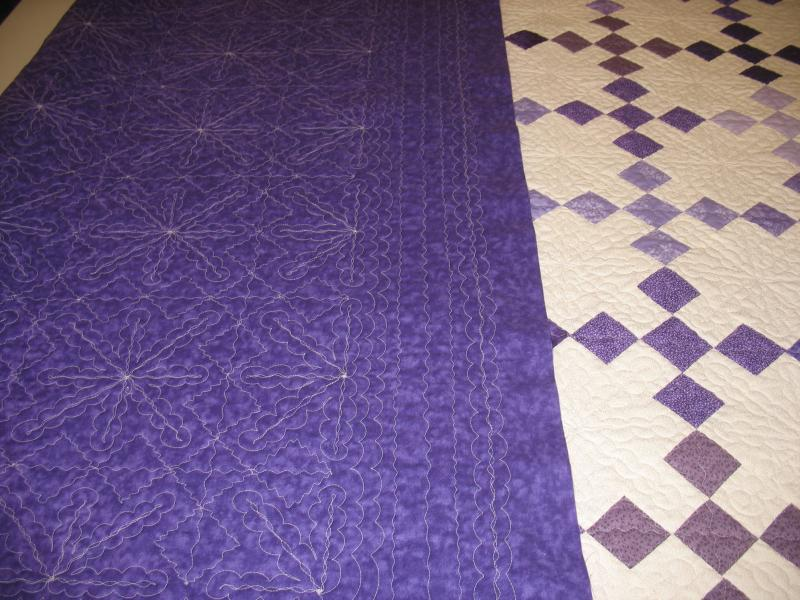Longarm Quilting sample