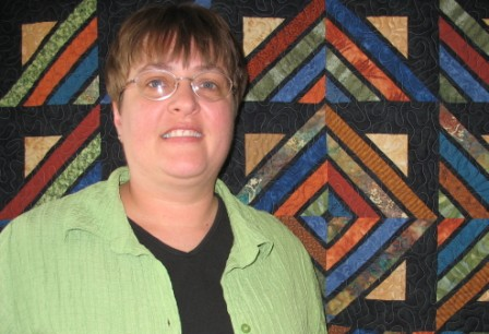 Teresa Popanz, owner of Twin Turtle Quilts